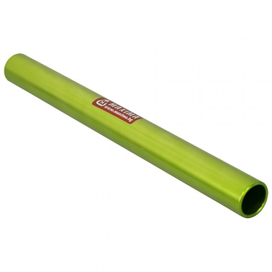 Щафетна палка, 30х2.8 см, Алуминиева, Светлозелена - 30010002