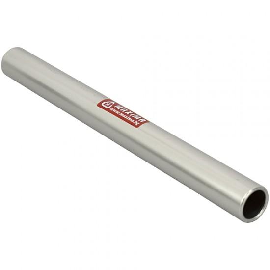 Щафетна палка, 30х2.8 см, Алуминиева, Сива - 30010008