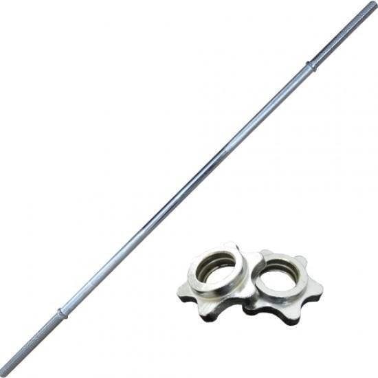 Лост за щанга, Прав, 120 см, Ф28 мм - 310586