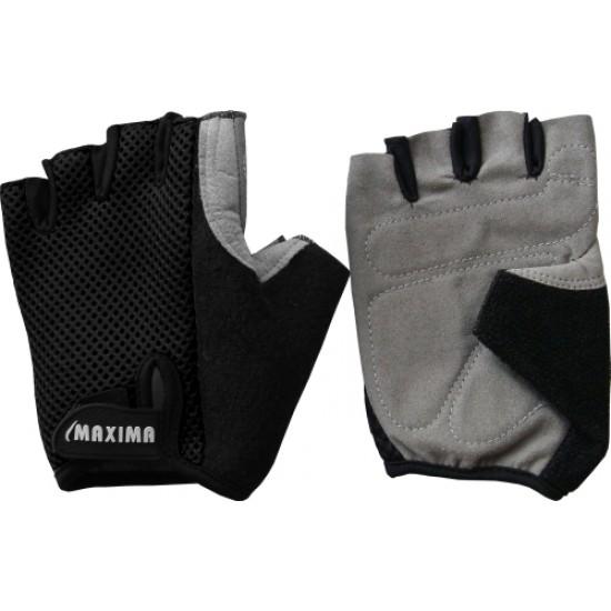Ръкавици за колоездене, Велур с текстил