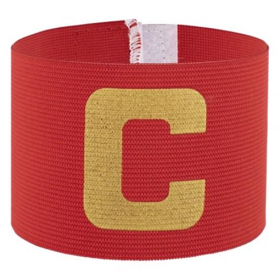 Капитанска лента, Едноцветна, Червена