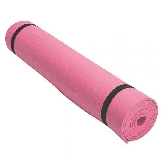 Постелка за къмпинг и туризъм, 175x50x0.6 см, Розова - 60017103