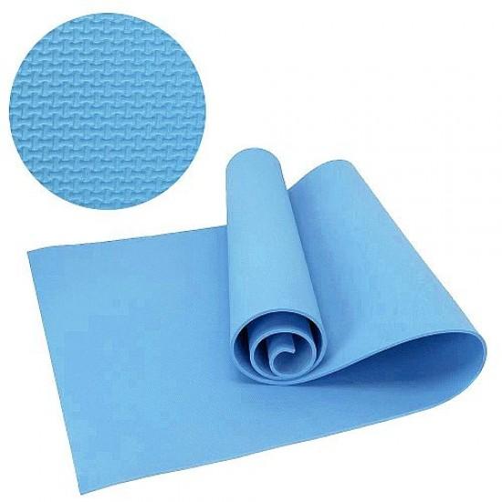 Постелка за къмпинг и туризъм, 175x50x0.6 см, Синя - 60017104