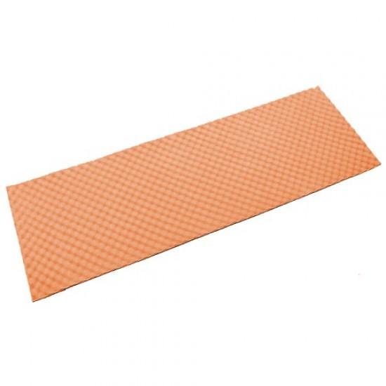 Постелка за къмпинг, Водоустойчива, 180х55х1.3 см, Оранжева