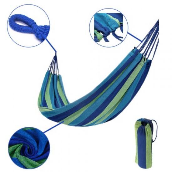 Хамак - Дължина до 230 см, Платно 180x80 см, От памучен материал, Дизайн 1 - 60024301