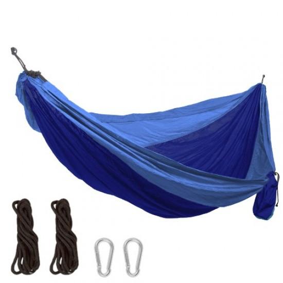 Хамак, Дължина до 340 см, Платно 270x120 см, От парашутен плат, Дизайн 2