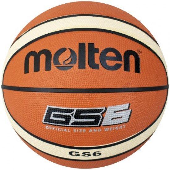 Баскетболна топка Molten BGS6-OI, Размер 6