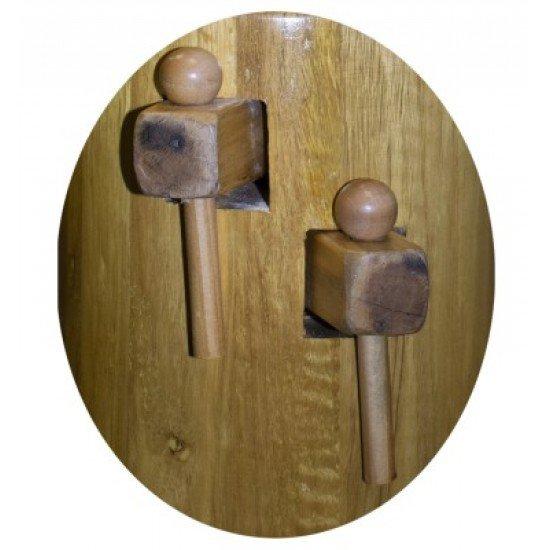 Дървен манекен за тренировки по Винг Чун, 168 см