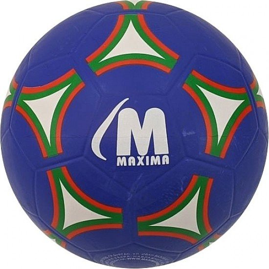 Футболна гумена топка MAXIMA Street, Размер 4 - синя