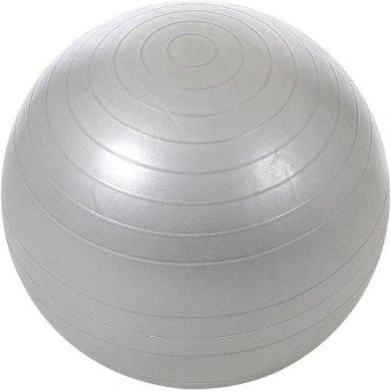 Гимнастическа топка 60 см - гладка, Anti burst (с подсилен материал)