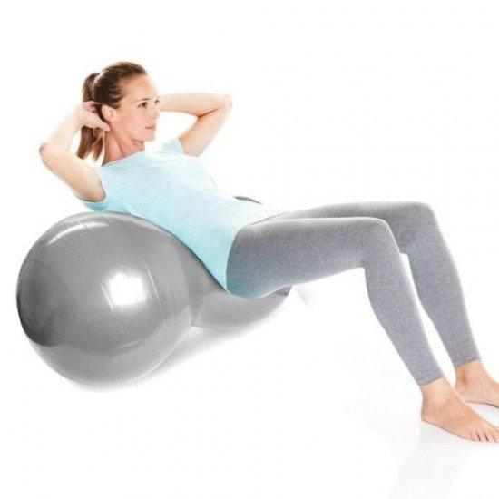 Гимнастическа топка ролер, 95х45 см