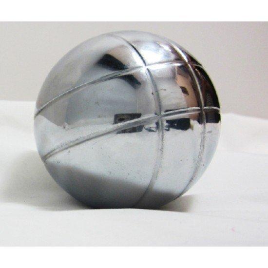 Комплект 6 топки за петанк от хромирана стомана
