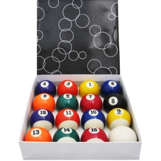 Комплект топки за билярд 16 броя