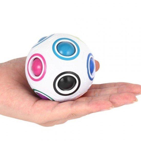 Магическа топка - пъзел дъга, 7 см