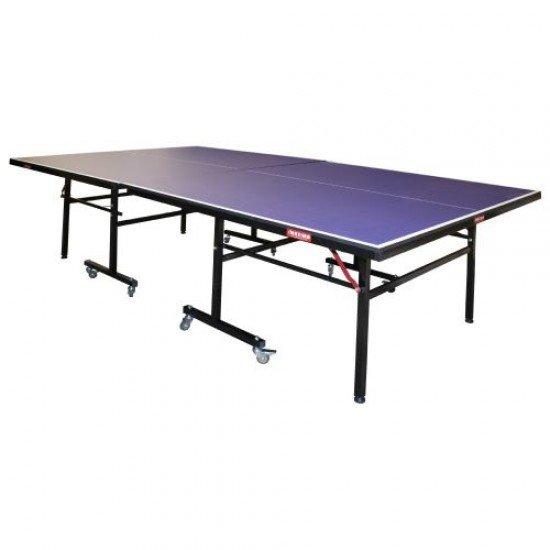 Маса за тенис с колелца, 274х152,5х75 см