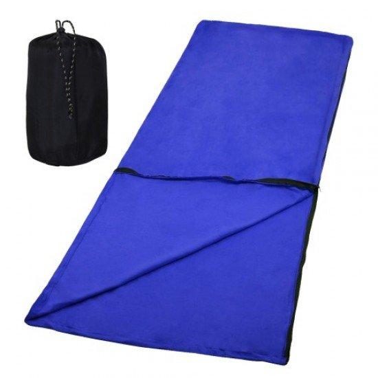 Одеало поларено с цип (спален чувал), 185х160 см