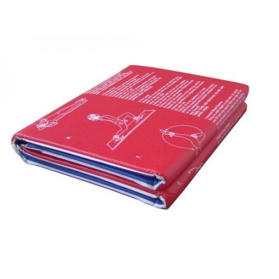 Постелка за гимнастика с дунапрен MAXIMA, 176х61х2 см