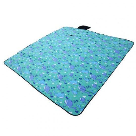 Постелка за пикник, къмпинг MAXIMA, 145х200 см - Син кит