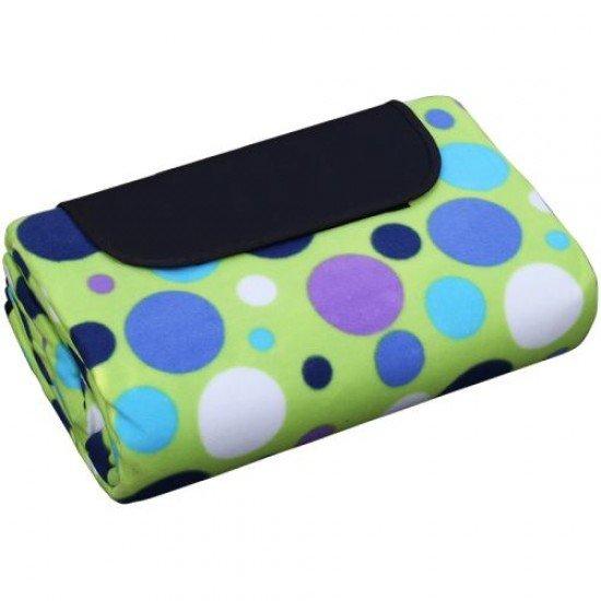 Постелка за пикник, къмпинг MAXIMA, 200х200 см - Зелена