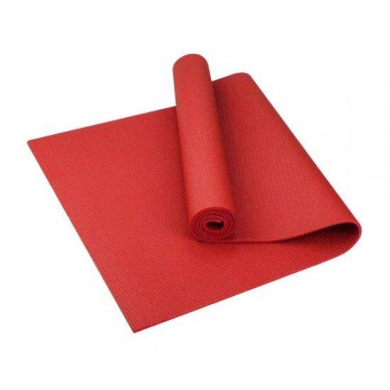 Постелка за йога 173x61x0,4 см - Червен