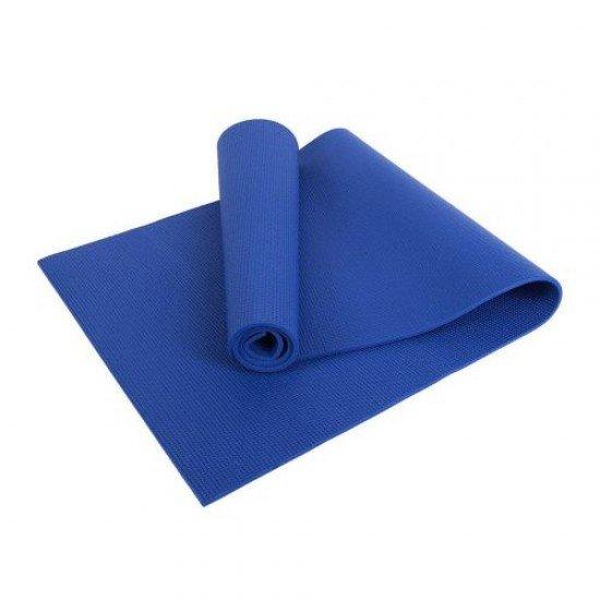 Постелка за йога 173x61x0,4 см - Син
