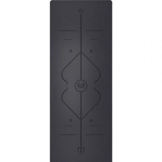 Постелка за йога и спорт с отлично сцепление, 183x67,5x0,5 см