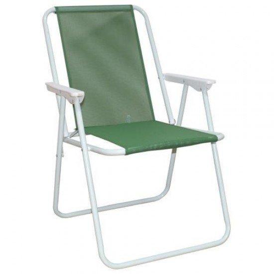 Сгъваем стол MAXIMA, Стоманен профил - Дизайн 5