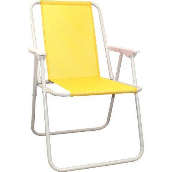 Сгъваем стол MAXIMA, Стоманен профил - Дизайн 6