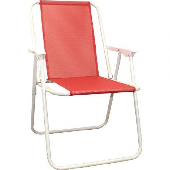 Сгъваем стол MAXIMA, Стоманен профил - Дизайн 8