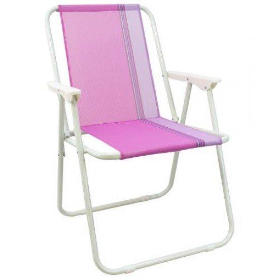 Сгъваем стол MAXIMA, Стоманен профил - Дизайн 9