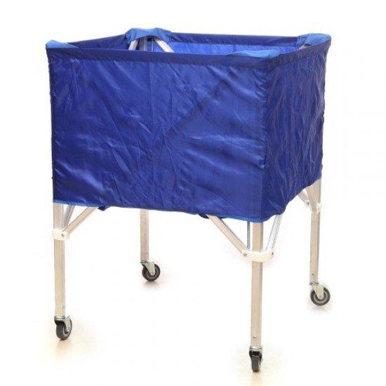 Сгъваема количка за топки, 90x80x87 см