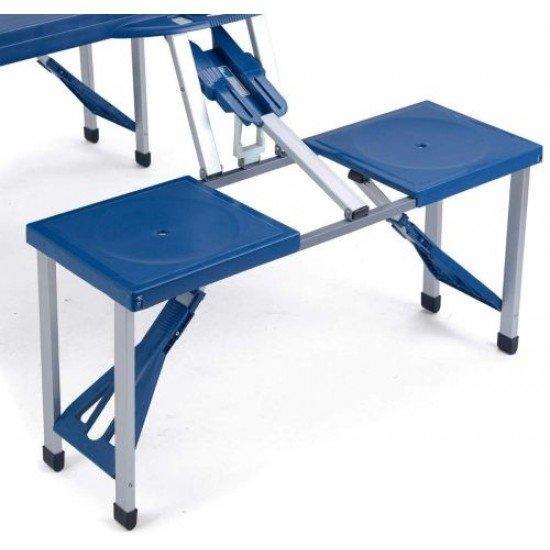Сгъваема маса с 4 стола MAXIMA
