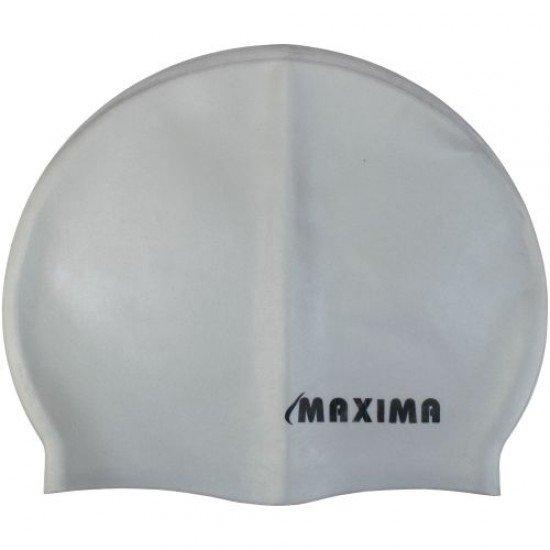 Шапка за плуване (плувна шапка) MAXIMA, Сива