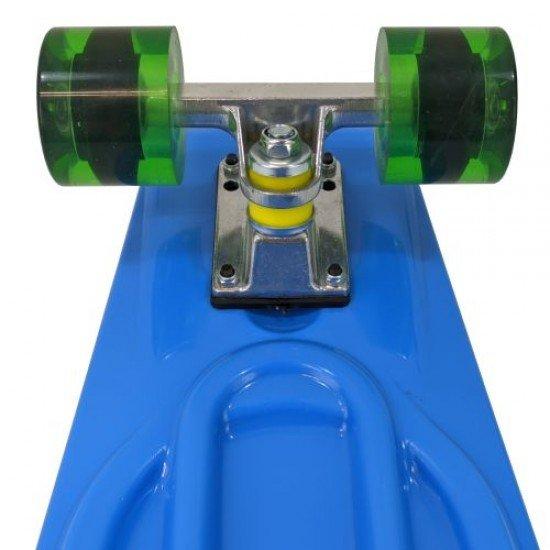Скейтборд (пениборд) MAXIMA, 68 см, Син