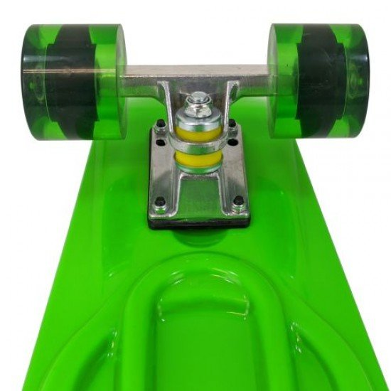 Скейтборд (пениборд) MAXIMA, 68 см, Зелен
