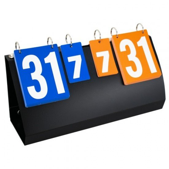 Табло за резултати 2 големи и 2 малки табелки за цифри