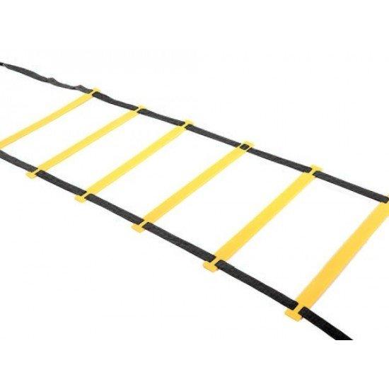Тренировъчна стълба за ловкост MAXIMA 5,8 м, 12 преки (11 стъпала)