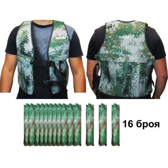 Тренировъчна жилетка за тежести 1-25кг MAXIMA
