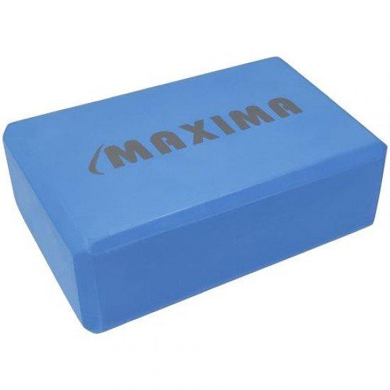 Йога блок MAXIMA 23х15х7,5 см, изработен от EVA