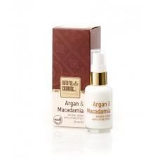 Органичен серум Арган и Макадамия с лифтинг ефект Natural Cosmetic, 30 мл