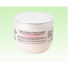Масажен крем за тяло с етерично масло от рози Natural Cosmetic, 1000 мл