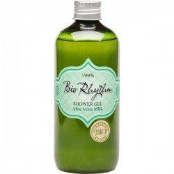 "Био душ-гел с алое вера ""Bio Rhytham"" Natural Cosmetic, 300 мл"