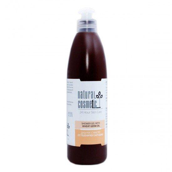 Душ-гел с масло от пшеничен зародиш Relax 24 Natural Cosmetic, 300 мл