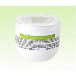 Крем за тяло с етерични масла от пачули и кориандър Natural Cosmetic, 250 мл