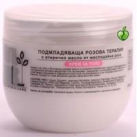 Крем за тяло с етерично масло от рози Natural Cosmetic, 250 мл