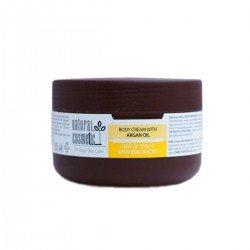 Крем за тяло с масло от арган Relax 24 Natural Cosmetic, 300 мл