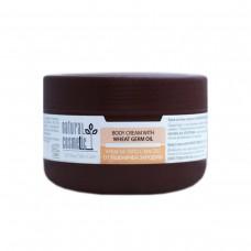 Крем за тяло с масло от пшеничен зародиш Relax 24 Natural Cosmetic, 300 мл
