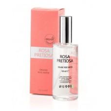 """Органична розова вода за лице и шия """"Rosa Pretiosa"""" Natural Cosmetic, 100 мл"""