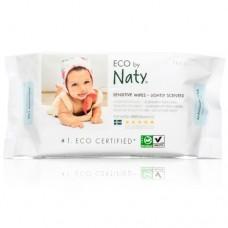 Naty Мокри кърпички Sensitive с лек аромат 56 бр.