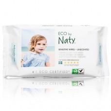 Naty Мокри кърпички Sensitive без аромат 56 бр.